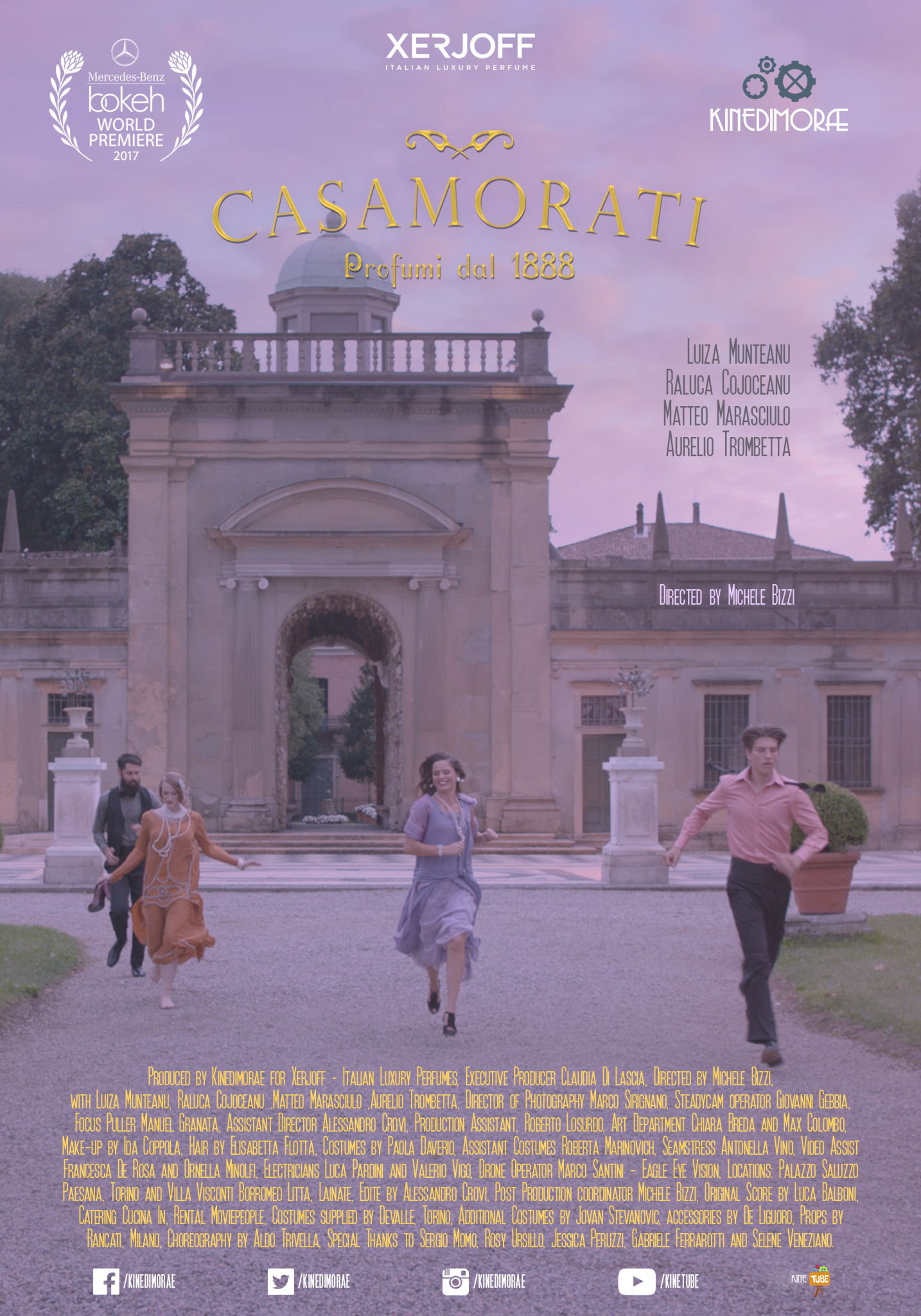 Casamorati World Premiere At Bokeh South African International Fashion Film Festival